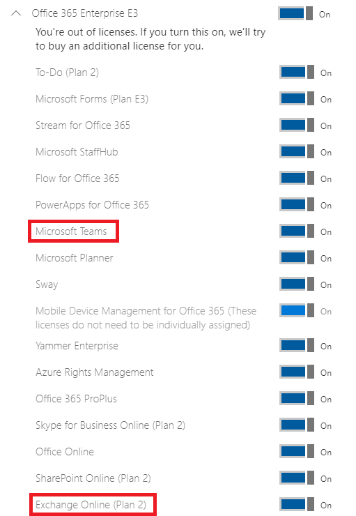 Prepare the Source Office 365 Tenant