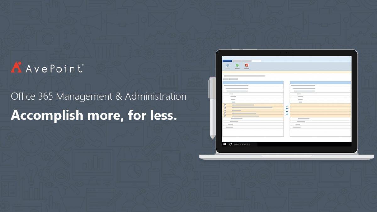 Cloud Management Built For Office 365 | AvePoint