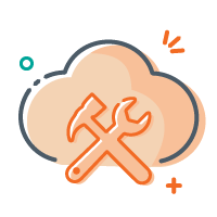 Cloud Management Icon