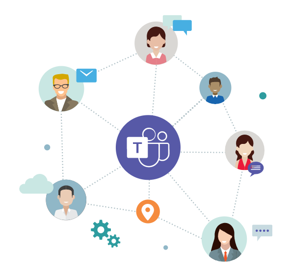 Microsoft teams graphic