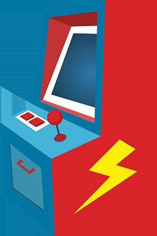 Arcade icon Intro jp