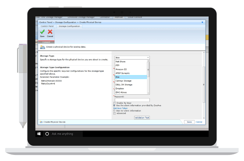 Archiver UI for SharePoint