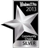 AvePoint's DocAve Software Platform Named a 2013 Community Choice Award Winner by the Windows IT Pro Community