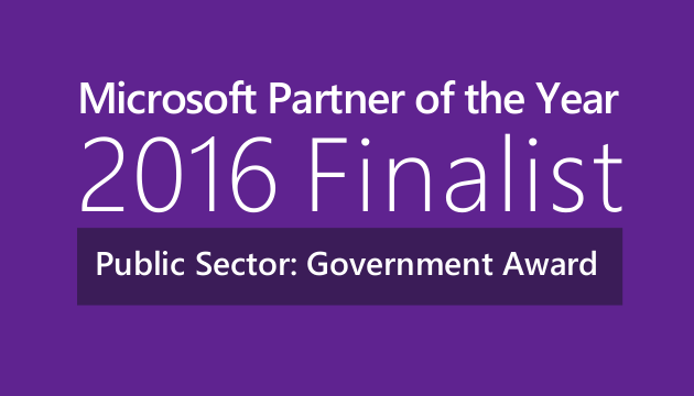 AvePoint selected as a finalist for Partner of the Year Award for Public Sector – Government