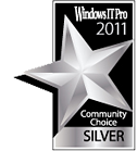 AvePoint Wins 2011 Community Choice Award from Windows IT Pro Community