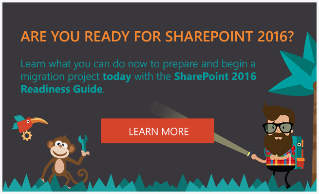 Are you ready for sharepoint 2016