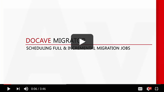 Full Incremental SharePoint Migration with DocAve Migrator - SharePoint Migration Tool