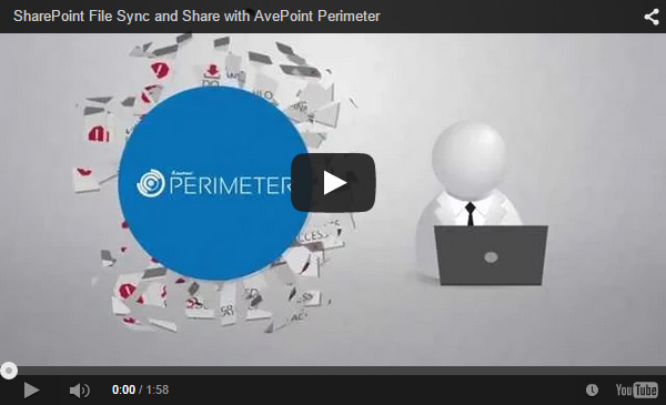 SharePoint File Sync and Share with AvePoint Perimeter