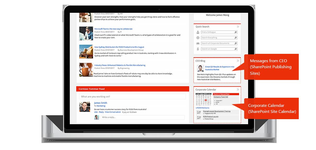 Intranet Portal Solution | AvePoint