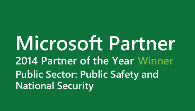 Micrsoft Partner 2014 Partner of the Year winner